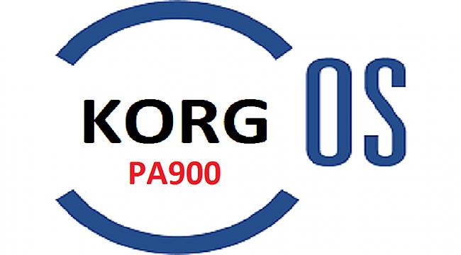 KORG PA900 v1.20 İŞLETİM SİSTEMİ (O.S.) ve YÜKLENİŞİ