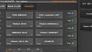 PA2X-PA800 ANKARALI 2017 SET