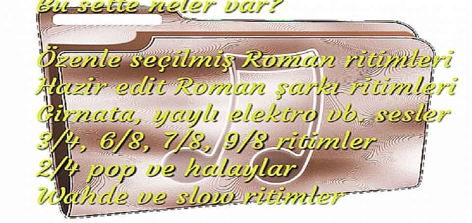 PA900 ÖZEL ROMAN SET