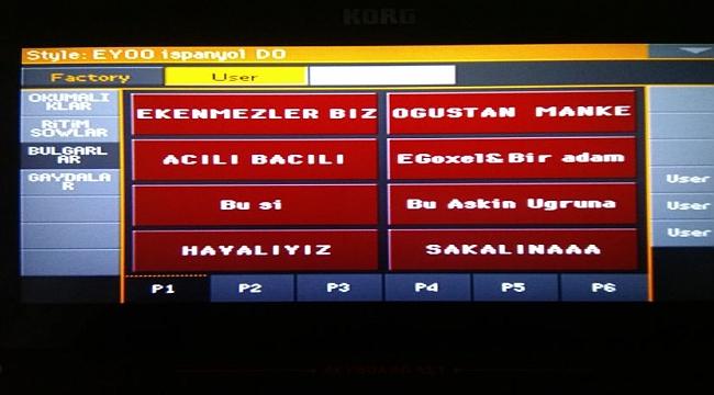 PA4X BARIŞ DENEME ROMAN SET