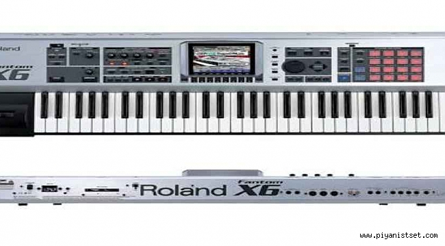 ROLAND FANTOM X6 AKAMPANIMENT 270mb. SET