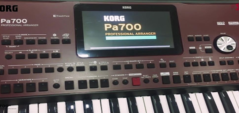 KORG PA700 - PA1000 COMPRESS SET