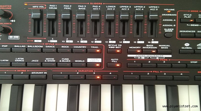 KORG PA4X Mix ( Karma ) İYİ SET