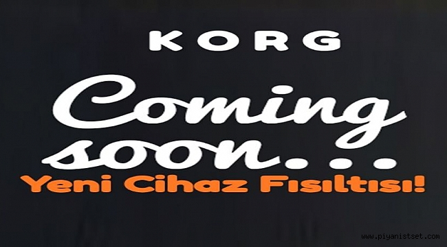 KORG - NEW ARRANGER COMING SOON!