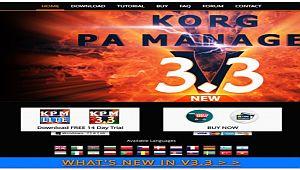 Korg Pa Manager New Update Next V.3.3