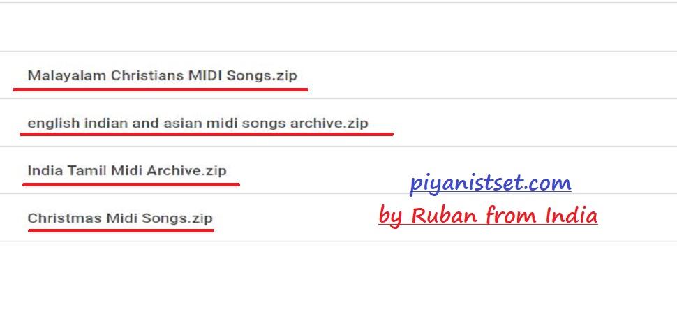 Huge Midi Songs - 2019 by Ruban (Dev Midi Arşivi)