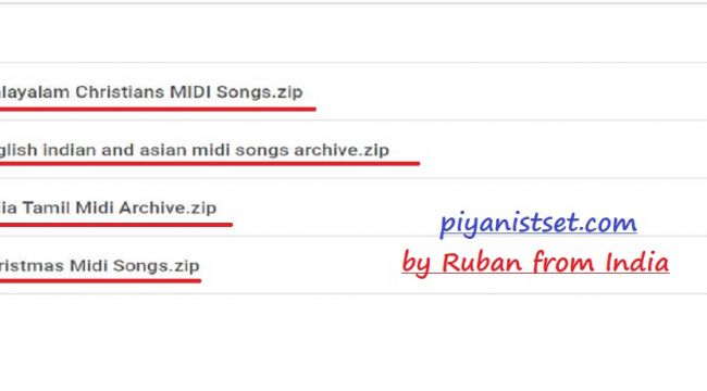 Huge Midi Songs - 2019 by Ruban (Dev Midi Arşivi)