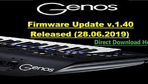GENOS UPDATE V. 1.40 RELEASED (28.06.2019)