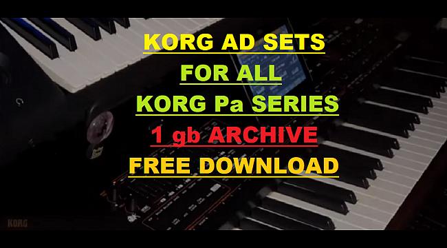 korg pa600 indian styles free download