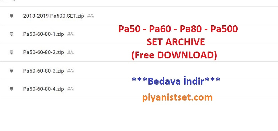 piyanistset com - Free Set Download Center (Ücretsiz Set Merkezi)