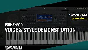 YAMAHA PSR-SX900 NEW ARRANGER (YENİ KLAVYE)