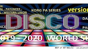 KORG Pa Series Disco - Dance - Party - Pop - Trance - Beat 2019-2020 Set (Demo) V1