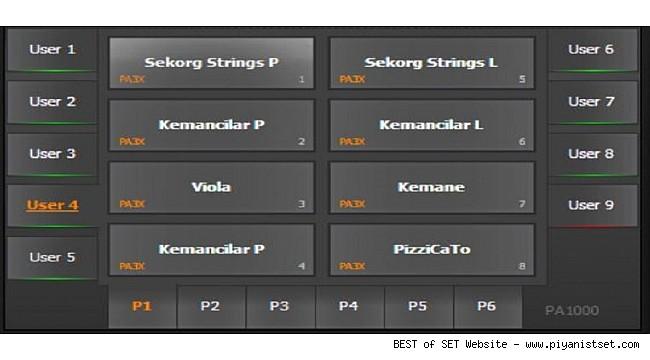 Korg Pa1000 - Pa700 Sekorg Son SET - Buradan Bedava İndir - Free Download Here