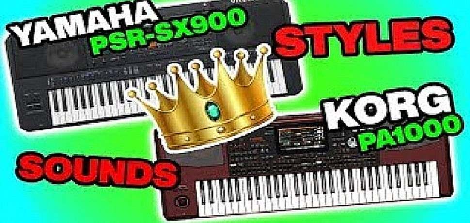 Yamaha Psr-sx900 vs. Korg Pa1000 (Which one is Better?) Comment under video.