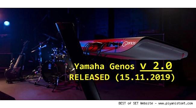 Yamaha GENOS v 2.0 RELEASED (15.11.2019) Download Here