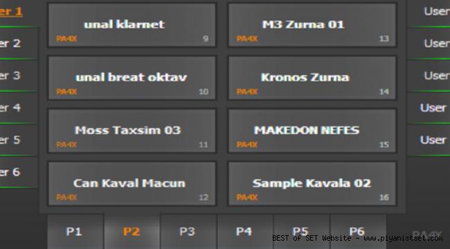Korg Pa4x Güzel Düzenli Karma Mix Set - Buradan Bedava İndir - Free Download Here
