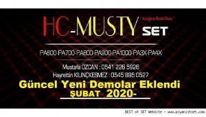 HC - MUSTY SET KORG PA SERIES - TÜM DEMOLAR - BURADAN İZLE - WATCH HERE