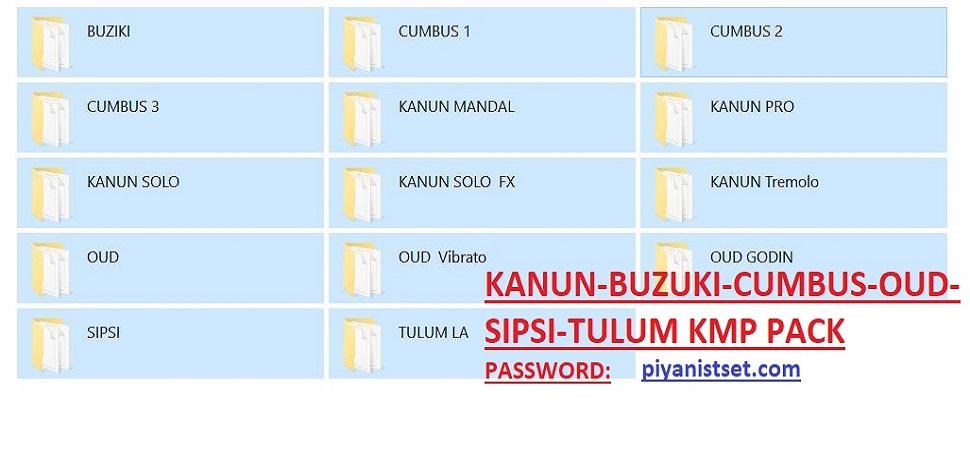 Kmp - Korg Kanoun-Buzuki-Cümbüs-Oud-Sipsi- Tulum Sounds - Buradan Bedava İndir - Free Download Here