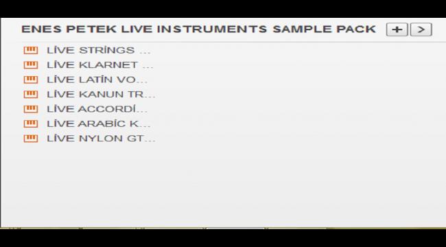 Yamaha A3000 - GENOS Enes Live Instruments Sample Pack-2 (2018) Buradan Bedava İndir - Free Download Here