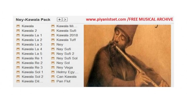 Yamaha Keyboard Nay-Kawala .PPF Pack - Buradan Bedava İndir - Free Download Here