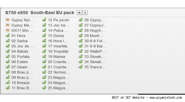 Yamaha Psr-S750 EU Reg and YEP Pack - Buradan Bedava İndir - Free Download Here