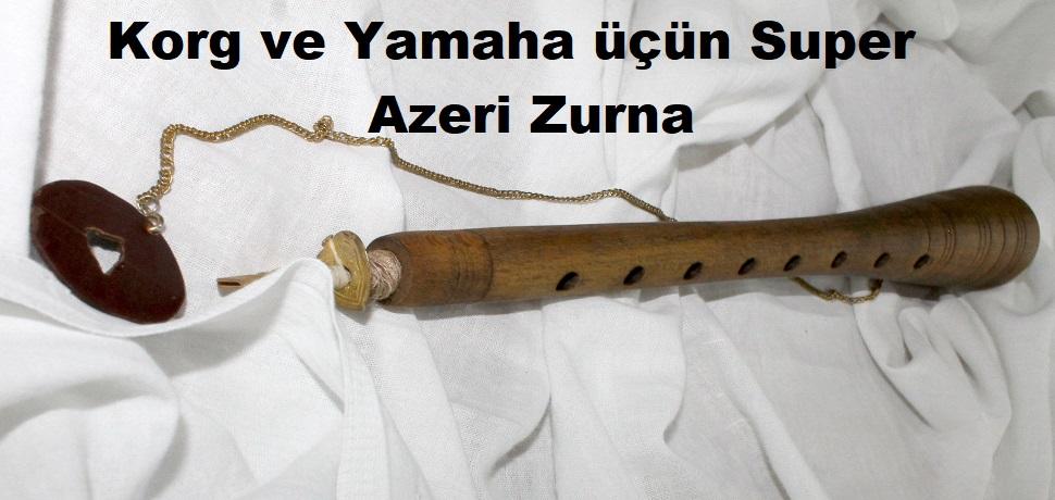 Korg Pa ve Yamaha seriyası üçün Super Azeri Zurna - Qeydiyyatdan keçin və bu səhifədən yükləyin - PULSUZ