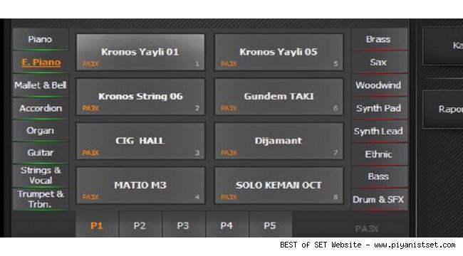 Korg Pa3x Güncel Göksel Set by Pianist Hakan - Buradan Bedava İndir - Free Download Here
