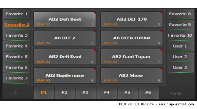 Korg Pa4x Balkan Super Ab 2 Style SET Version 2 - Buradan Bedava İndir - Free Download Here - (318 Mb)