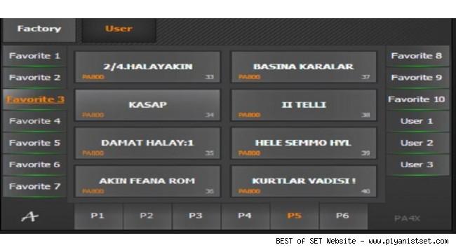 Korg Pa4x Trakya 2019 Toplama piyanistset SET - Buradan Bedava İndir - Free Download Here