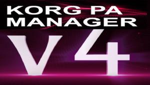 Korg Pa Manager V4 Released - Korg Pa Manager V4 Yayınlandı