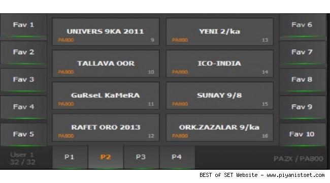 Korg Pa2x - Pa800 Balkan Dobra Keyboard Set - Buradan Bedava İndir - Free Download Here