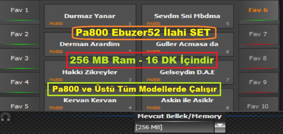 Korg Pa800 Piyanistset.com 2020 Ebuzer52 İlahi Set - Buradan Bedava İndir - Free Download