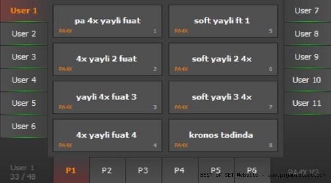 Korg Pa4x Fuat Set - Buradan Bedava İndir - Free Download Here