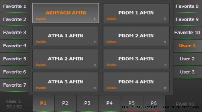 Korg Pa4x Amin Asfar Iran - Azeri Set - Buradan Bedava İndir - Free Download Here