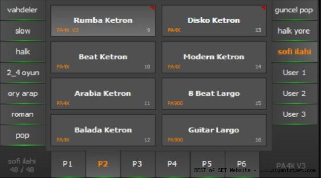 Korg Pa4x Next Sincanli Karma Edit Set - Buradan Bedava İndir - Free Download Here