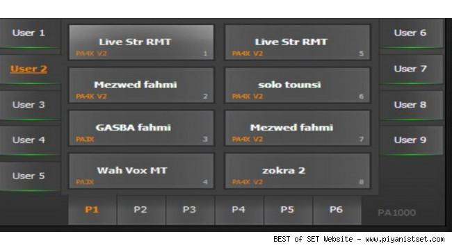 Korg Pa700 Tunusi Fahmi Hajjouni Arabic Set - Buradan Bedava İndir - Free Download Here