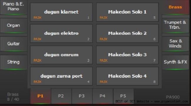 Korg Pa900 Eylül Düzenli Set - buradan Bedava İndir - Free Download Here