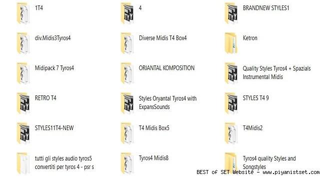 Yamaha Tyros 4 and Tyros Midi + Styles for All Yamaha Keyboards by Rathmann v2