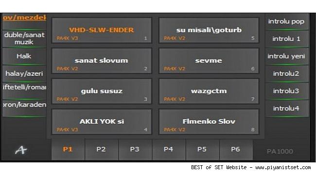 Korg Pa1000 Ender Set - Buradan Bedava İndir - Free Download Here