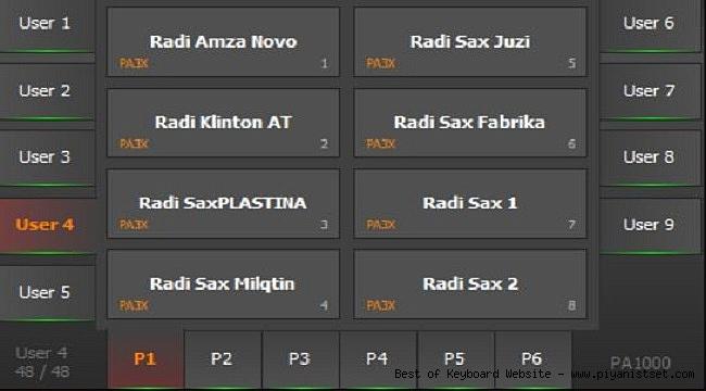 Korg Pa1000 Radi Balkan Full Performance Sound Set - Bedava İndir - Free Download