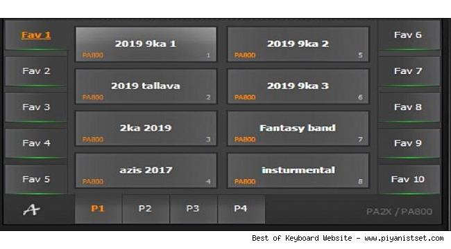 Korg Pa2x - Pa800 Alishan Bulgar 2019 Set - Buradan Bedava İndir - Free Download Here