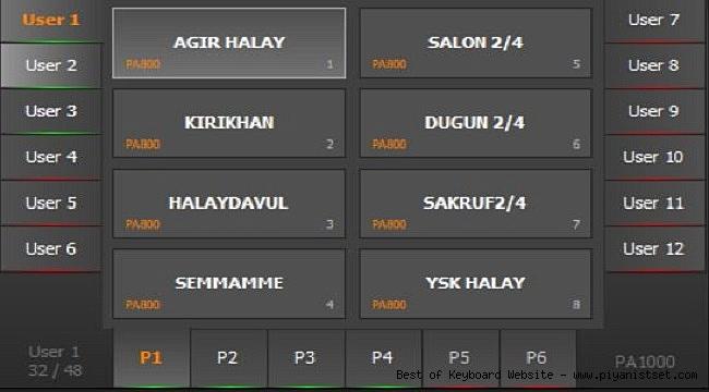 Korg Pa1000 Selo Selçuk Demirel Karma Set - Buradan İndir - Free Download Here
