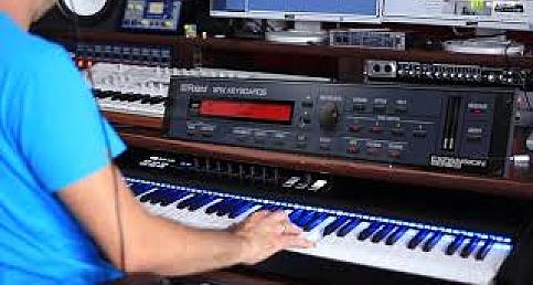 ROLAND CLOUD SRX PIANO KEYBOARDS