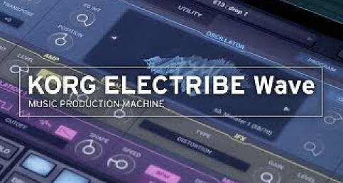 KORG ELECTRIBE WAVE MUSIC MACHINE (ios and android)