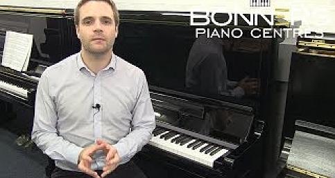 YAMAHA SE132 UPRIGHT PIANO DEMO