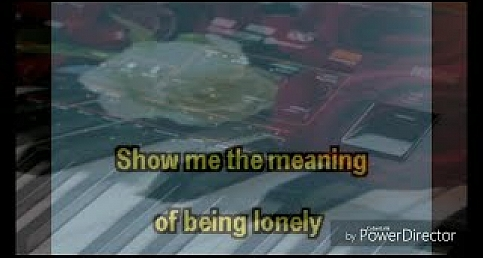 Show me the meaning of being lonely- Pa4x Midi &Mp3 Channel Record  KARAOKE