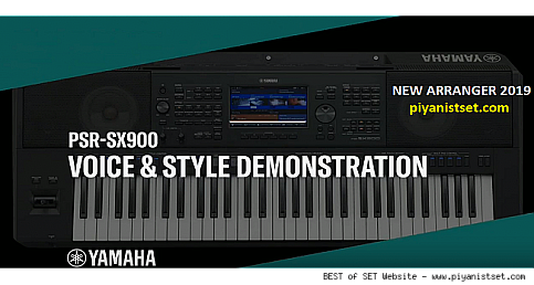 New Keyboards: Yamaha Psr-SX900 & 700 DEMO