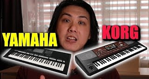 Comparison Yamaha PSR-S775 vs Korg-PA700 - Super Articulation vs DNC