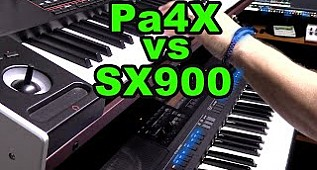 Korg Pa4x vs Yamaha PSR SX900 Comparison Sound and Style (Karşılaştırma)