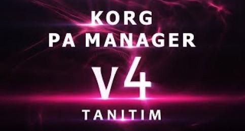 Korg Pa Manager V4 Yayınlandı